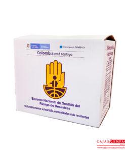 En Cajas y Empaques fabricamos cajas de cartón para ayuda humanitaria
