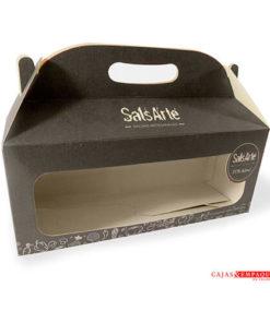 La caja de Cartón Maletín con Ventana es un Producto usado en distintas industrias para empacar productos