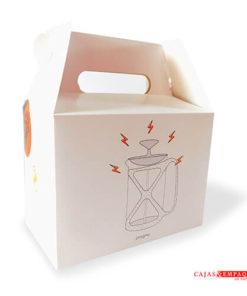 Cajas de Cartón Tipo Maletín son usadas para almacenar productos